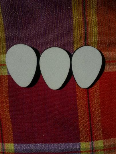 网易严选 3只装 黑白粉扑 定妆粉扑化妆粉饼干湿两用美妆工具 长方形 晒单图