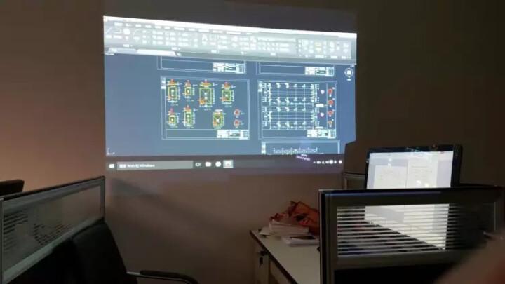 爱普生(EPSON)商务办公投影仪家用投影机(高清接口 3200流明 支持无线投影 侧投 便携易用) CB-S05E(CB-S04E升级版)3200流明 官配+1米吊架+10米VGA线 晒单图