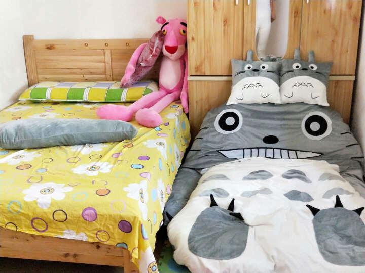 【扬州馆】翌佳人 创意懒人沙发床垫龙猫床榻 榻米加厚双人单人卡通沙发睡袋 沙发床客厅沙 超大加厚相当于1.8米大床 晒单图