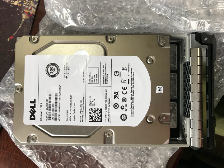 戴尔(DELL) SAS服务器硬盘  73G/146G/300G/450G/600G可选 300GB 15K SAS 2.5英寸 晒单图