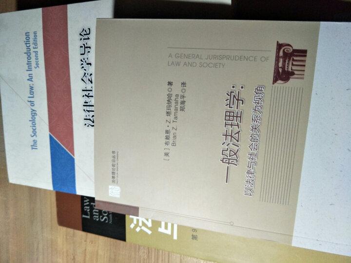 法律理论前沿丛书·一般法理学:以法律与社会的关系为视角 晒单图
