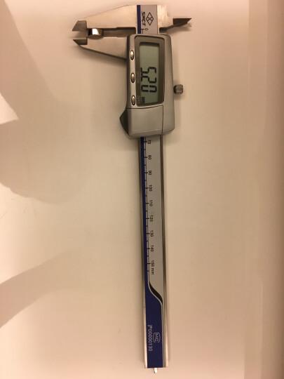 上量数显游标卡尺电子卡尺金属罩壳高精度不锈钢IP67防水迷你小型文玩0-150300500mm 0-200mm金属壳(可自动关机) 晒单图