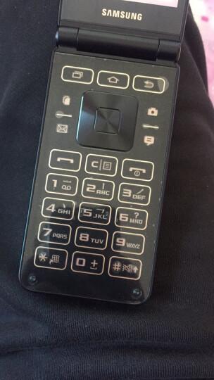 三星 Galaxy Folder2 (SM-G1650)2GB+16GB 琉璃黑 移动联通电信4G翻盖手机 双卡双待 晒单图