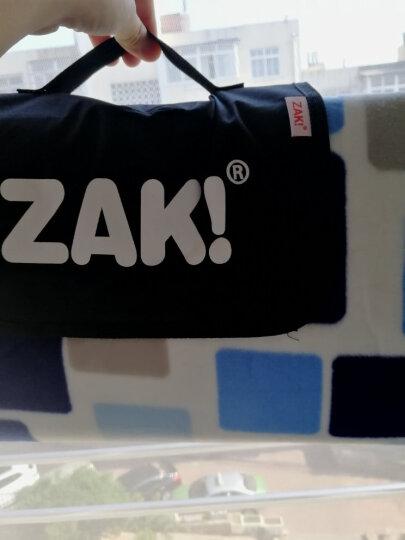 ZAK!野餐垫户外加绒加厚底部铝膜防潮垫加大帐篷垫子 梦幻蓝200*200cm zak-x610508 晒单图