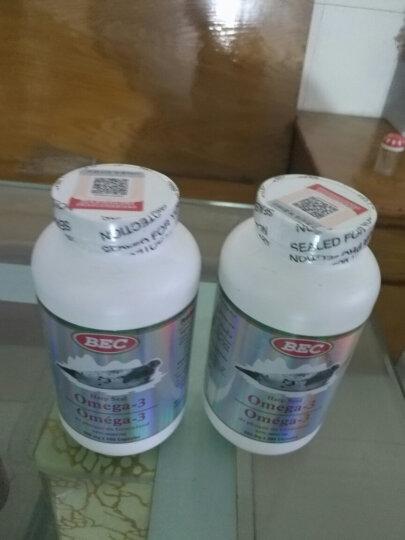 BEC 加拿大原装进口海豹油软胶囊 500mg*500粒*2瓶 晒单图