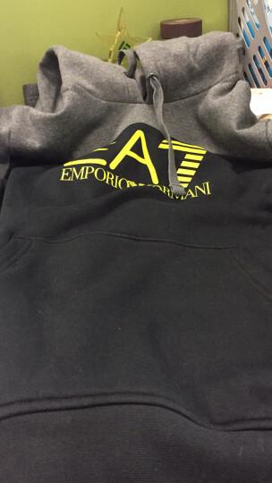EA7 EMPORIO ARMANI阿玛尼奢侈品男士休闲上衣6YPM98-PJ07Z BLACKGREY-22BH M 晒单图