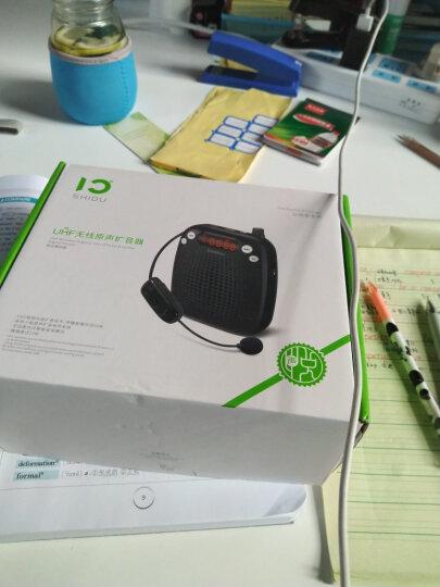 十度(ShiDu)SD-S611 无线扩音器UHF版 教师教学专用大功率小蜜蜂导游促销会议便携扩音机音响喇叭 经典黑 晒单图