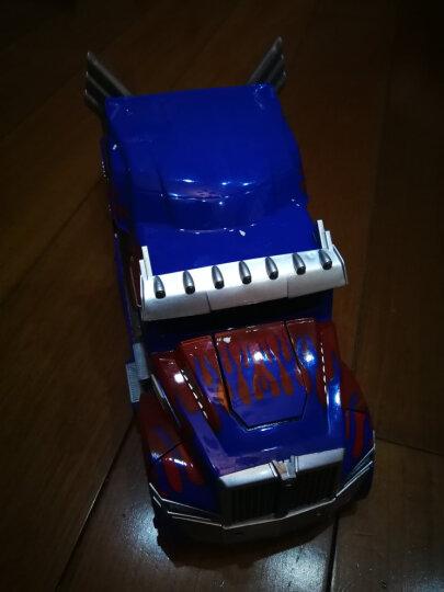 孩之宝 加大1:12变形金刚儿童遥控车玩具车 手势声控感应男孩充电汽车机器人模型生日礼物 升级版-双感应-大黄蜂金刚 晒单图