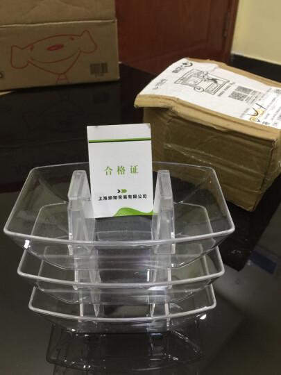 通用抽油烟机接油盒 油烟机配件滴油碗 方形油杯三爪集油盒10款可选 PC塑料卡扣款 晒单图