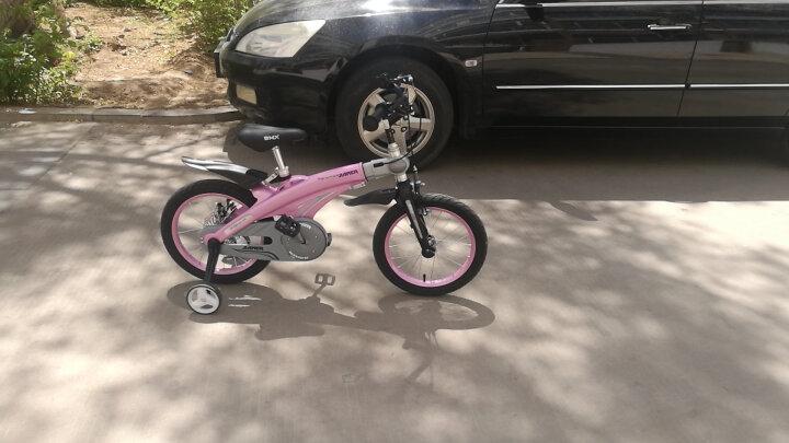 【可加长】健儿(jianer)儿童自行车男女小孩单车12/14/16寸 经典款-公主粉(后轮碟刹) 16寸 晒单图