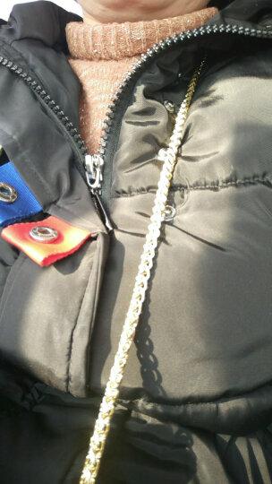 包包链条带配件带包链子单肩带斜挎背包带子斜跨宽铁链金属链单买SD K2白色扁链120cm 晒单图