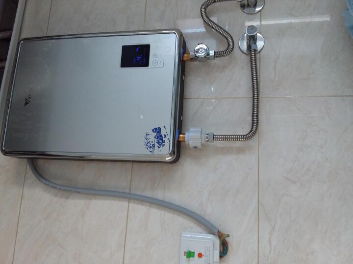 汉诺威(hannover)电热水器 即热式电热水器 电 小热水器即热式 智能恒温DSC-ME2 银色 8.8KW 晒单图