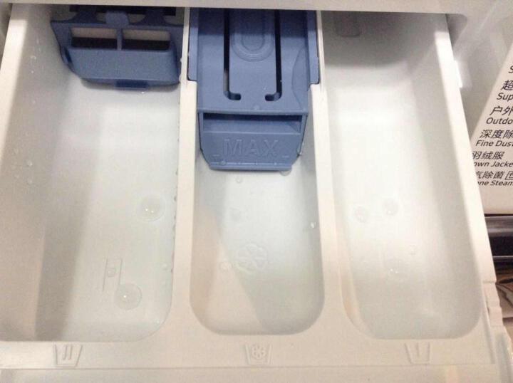 三星(SAMSUNG)8公斤超薄滚筒洗衣机 中途添衣 泡泡净洗 智能变频电机WW80K5210VS/SC(银) 晒单图