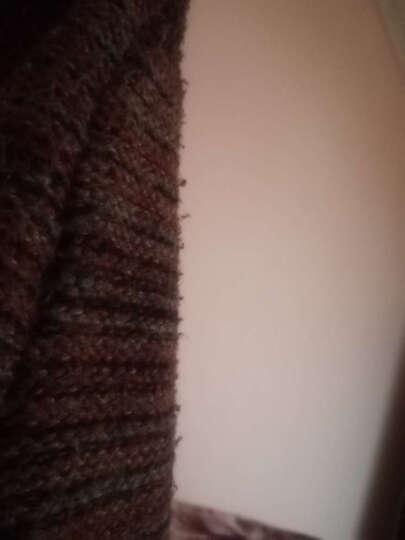 美梵林高领毛衣女套头针织衫2017新款 休闲加厚保暖宽松长袖秋冬打底衫女 灰色 XXL 晒单图