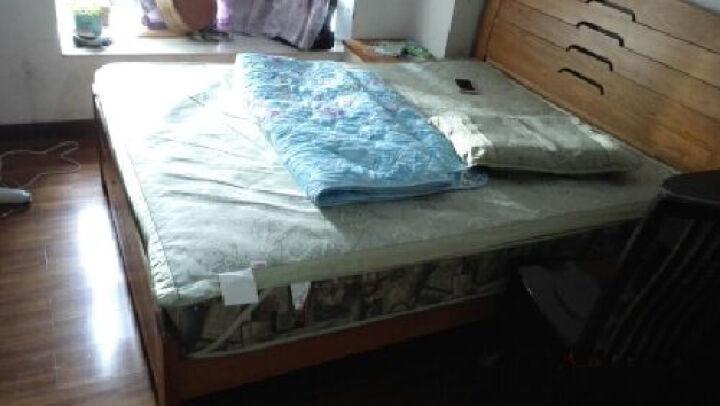 南极人 冰丝席 凉席空调席子 夏凉版冰丝席二三件套 单人双人可折叠席子 宫廷富贵-粉 1.8*2.0米床-3件套 晒单图