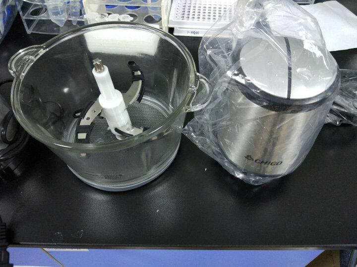 志高(CHIGO)绞肉机家用电动1.2L不锈钢多功能碎肉料理可制作婴儿辅食ZG-L805(1.2L) 晒单图