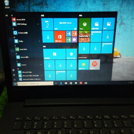 联想IdeaPad320 独显四核芯Intel性能笔记本电脑 超薄本游戏办公便携轻薄本商用电脑小新s N4200/8G/500+256G/黑色定制14 2G独显 W10 晒单图