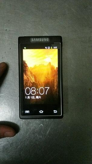 三星(SAMSUNG) 三星SM-G1600金色 W789电信手机W999手机 翻盖手机 G1600金色 全网通4G 双卡 晒单图