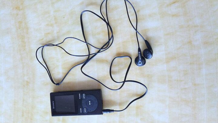 索尼(SONY) 索尼 MP3播放器 音乐随身听 FM广播 8G/16G续航35小时 学生听英语 黑色8G 晒单图
