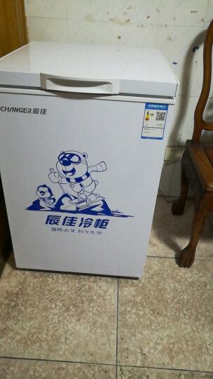 辰佳 (Changer )BC/BD(W)-100 100升家用小型冰柜冷藏冷冻转换冷柜冰柜 【经典容量】白100升强劲制冷 一机多用 晒单图