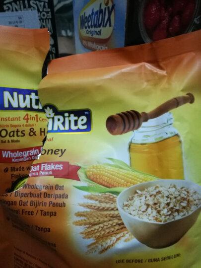 马来西亚进口 美趣力(NutriRite)即溶4合1蜂蜜口味麦片 504g 晒单图