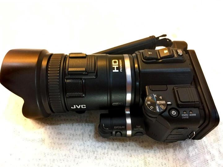 杰伟世(JVC)GZ-RX650BAC 四防高清数码家用摄像机/高清运动DV/防水/内置8G内存 黑色 晒单图
