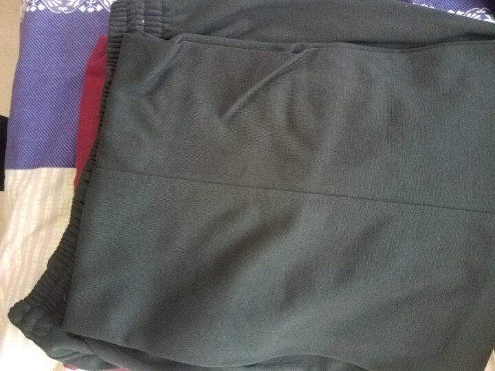 维斯瑞亚 运动套装 春秋男女款情侣休闲运动服卫衣套装男三件套 15款浅灰 男款XL 晒单图