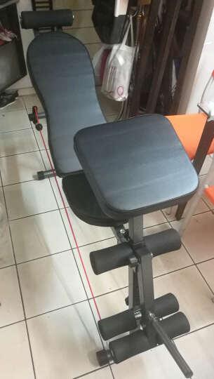 虹博(HOOB) 虹博小飞鸟哑铃凳卧推椅仰卧起坐板腹肌板家用健身器材 全能王黑色 晒单图
