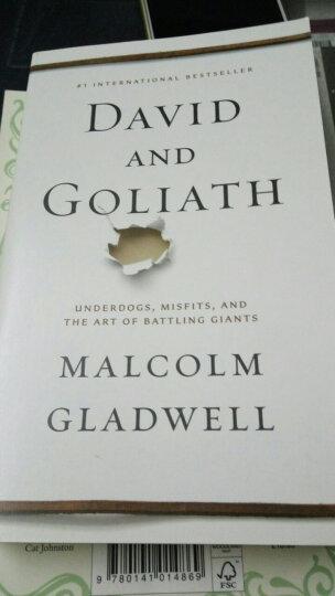 David and Goliath逆转:弱者如何找到优势,反败为胜 英文原版 晒单图
