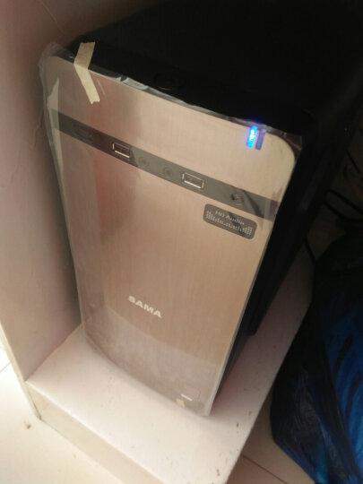 华志硕 J1800双核J1900四核 固态硬盘/MINI家用 组装电脑主机/DIY组装机 可选-空气盒子土豪金 独显游戏方案 晒单图