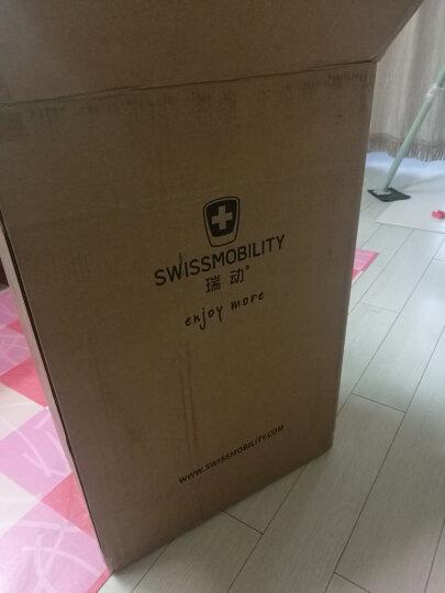 瑞动拉杆箱 24英寸行李箱 时尚轻盈大容量旅行箱静音万向轮男女 5036银色 晒单图