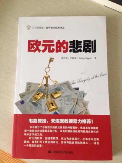 汇添富基金·世界资本经典译丛:欧元的悲剧(引进版) 晒单图