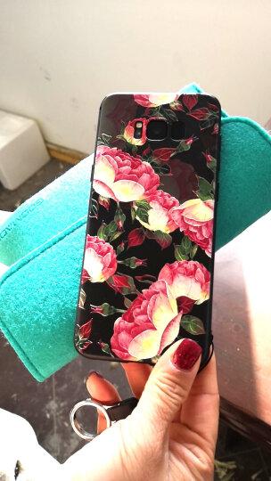 米享 浮雕三星s8手机壳s8+个性创意韩国plus软硅胶全包防摔女款挂绳套 S8+软壳浮雕-木兰 晒单图