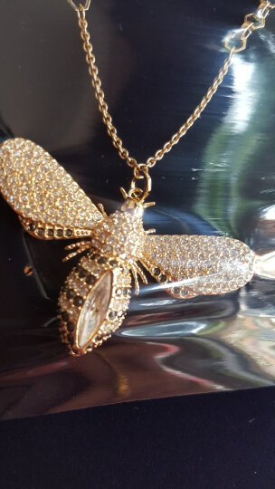 【品牌官方直营】施华洛世奇 2018 LISABEL 可爱蜜蜂长项链 百搭配饰 女友礼物 镀金色  5394212 晒单图