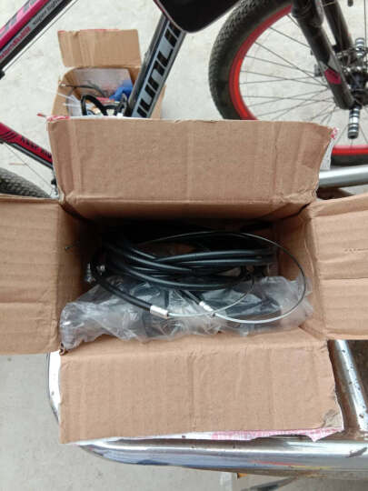 成珠全铝合金刹把山地车闸把自行车手刹死飞折叠车v刹碟刹通用配件 一对送刹车线管和工具 晒单图