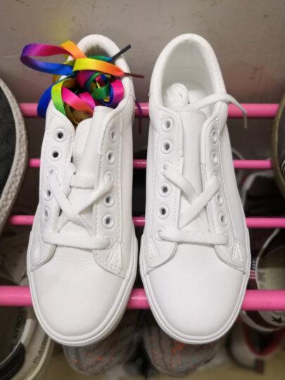 爱尊仕(AIZUNSHI)小白鞋女2019春夏季新款休闲鞋女韩版板鞋女学生平底女鞋子 白色-白猫加绒 37 晒单图