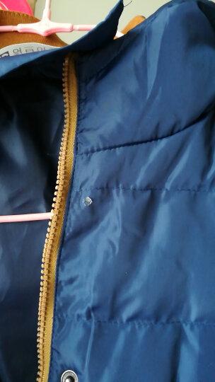 纽梵丝2017棉服冬款 棉服轻薄款 棉服冬季新款 韩版外套修身短款棉服女 红色 M 晒单图