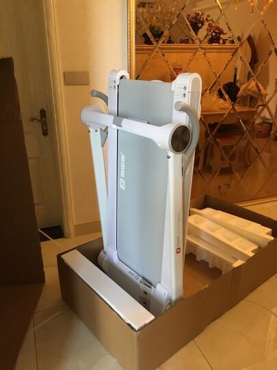 斯诺德(SiNuoDe) 跑步机 家用智能健身器材多功能静音迷你 走步机 VT10太空色 晒单图