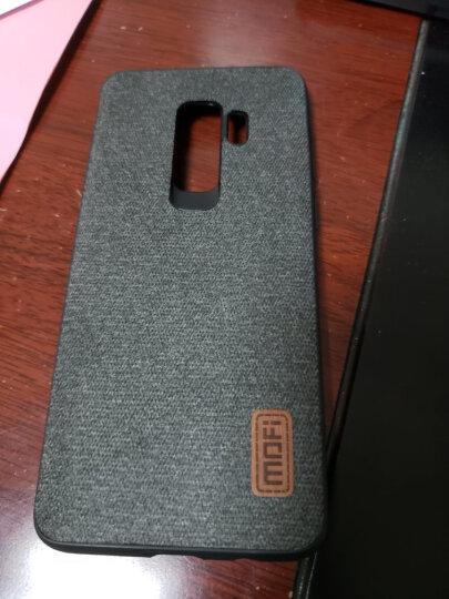莫凡 三星Galaxy S9+手机壳/保护套 个性创意全包边防摔贴皮背壳 适用于三星Galaxy S9PLus手机套 黑色 晒单图
