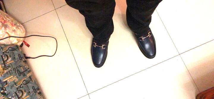 FERRAGAMO菲拉格慕男鞋精品商务鞋多鞋型可选 棕色 660286 6.5/40.5 晒单图