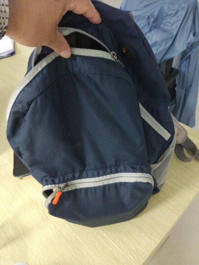 高尔夫GOLF升级版可折叠防水双肩书包大容量14/15寸电脑背包便携户外包 灰色15英寸户外轻骑6732 晒单图