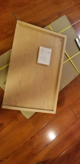 原森太 面板实木 菜板砧板防滑不易开裂不易变形案板擀面板 和面板 饺子揉面板小号中号特大号 大号橡胶木菜板50X35X3CM 晒单图