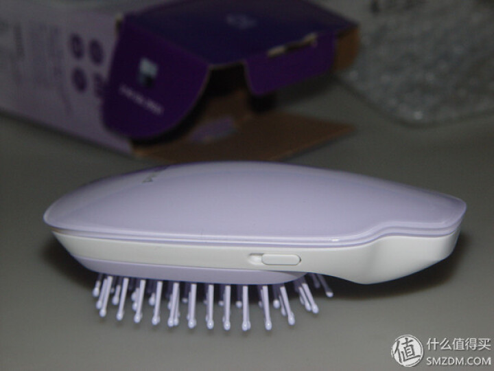 飞利浦(PHILIPS) 负离子造型梳 呵护头发 防静电 发梳 个性潮流新款 HP4585 晒单图