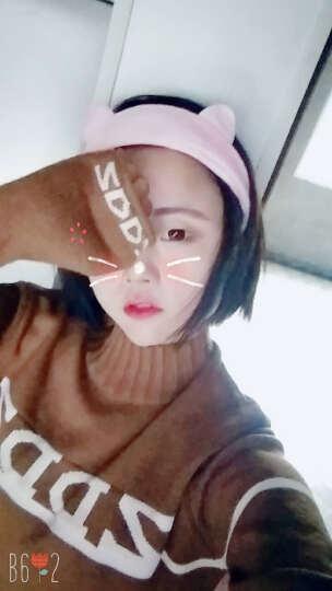 艾梵妮(Eyefanniy) 艾梵妮韩版发饰甜美可爱兔猫耳朵头饰发带宽边洗脸发箍发卡头巾女 粉色三件套【包邮】 晒单图