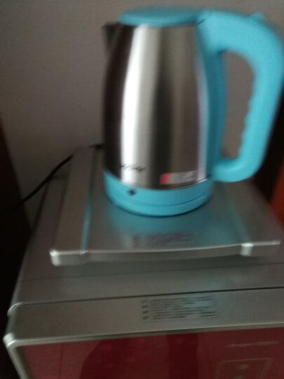 海尔(Haier)电热水壶 304不锈钢 全钢机身烧水壶 HKT-2820A 1.8L电水壶 晒单图