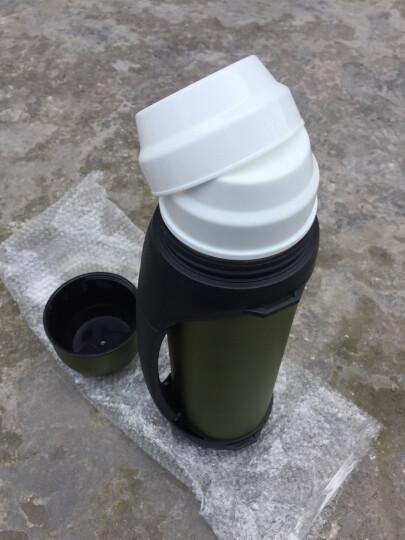哈尔斯(HAERS) 保温杯男女水杯子大容量保温壶户外保温瓶车载热水壶旅行壶 黑色2.0L 晒单图