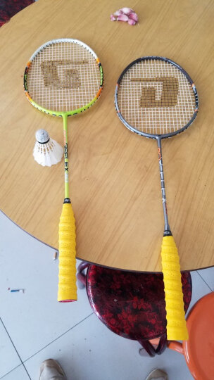 中极星ZJSTAR 手胶 羽毛球拍手胶 网球拍吸汗带 防滑舒适 龙骨3条黄ZJ4832 晒单图