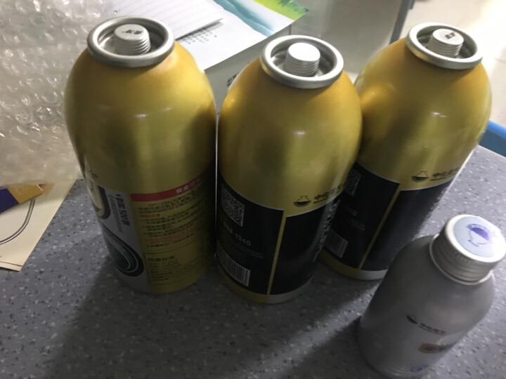 金冷 冷媒HFC-134a 环保雪种 汽车空调制冷剂 300克/罐 4瓶金冷媒+1瓶冷冻油 晒单图