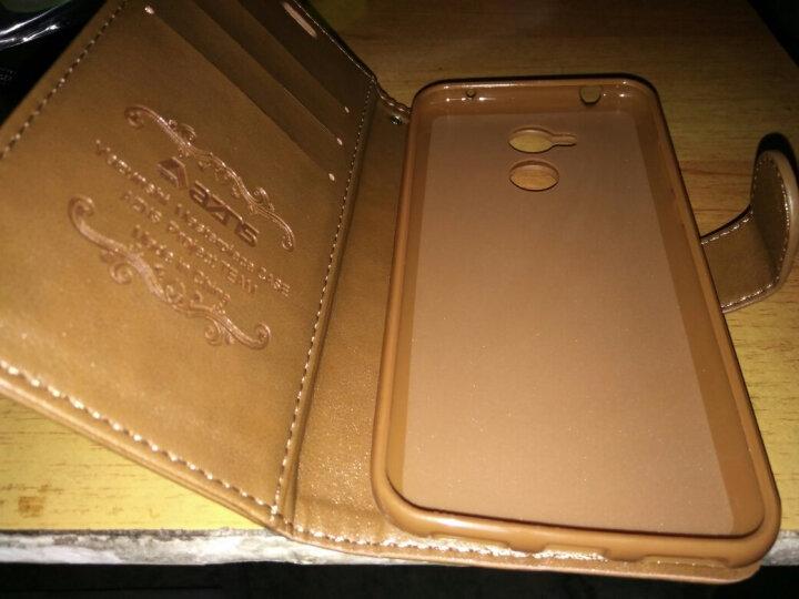 凡盾  华为荣耀6A皮套手机壳保护套硅胶套软壳全包 适用于华为畅玩6A DLI-AL10 荣耀6a 浅棕-送钢化膜+礼包 晒单图
