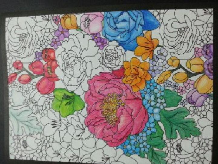烦了就想画几笔A:脑洞大开的创意心理涂色书 晒单图
